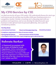 CIE Launched My CFO Service