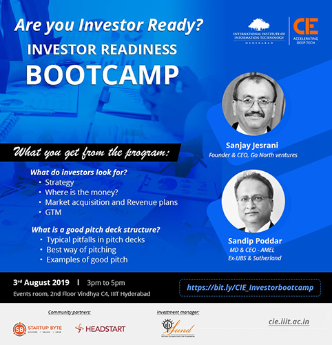 investor readiness bootcamp
