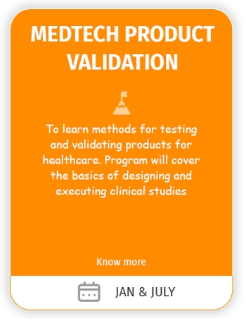 medtech product validation