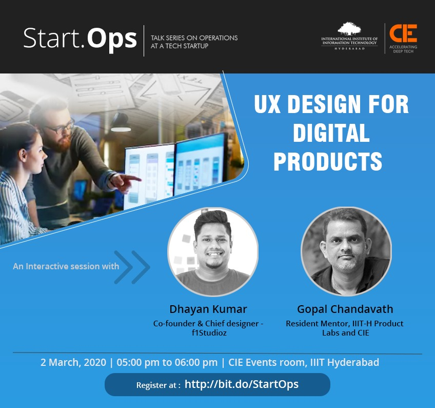 startops on ux design