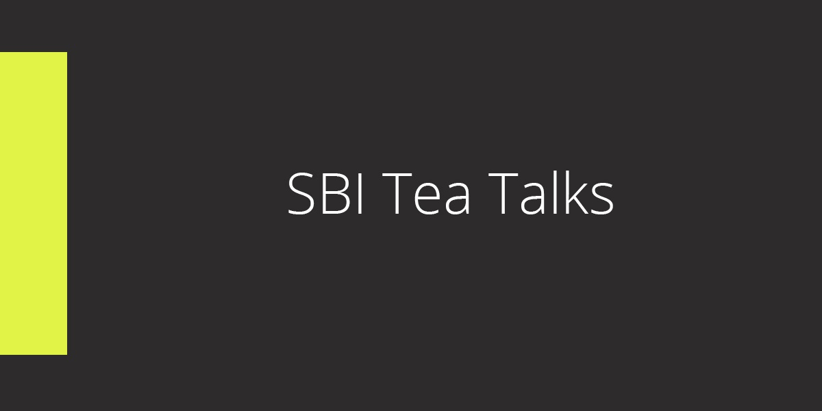 cie SBI-tea-Talks